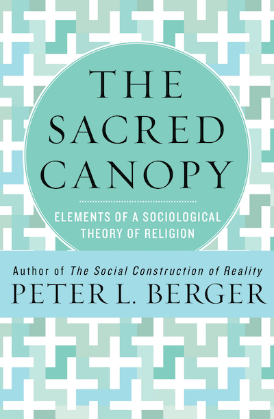 Image result for Peter Berger the sacred canopy
