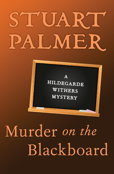 Buy Murder on the Blackboard at Amazon