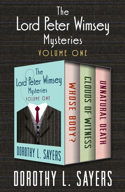 Buy The Lord Peter Wimsey Mysteries at Amazon