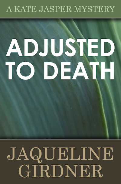 Buy Adjusted to Death at Amazon