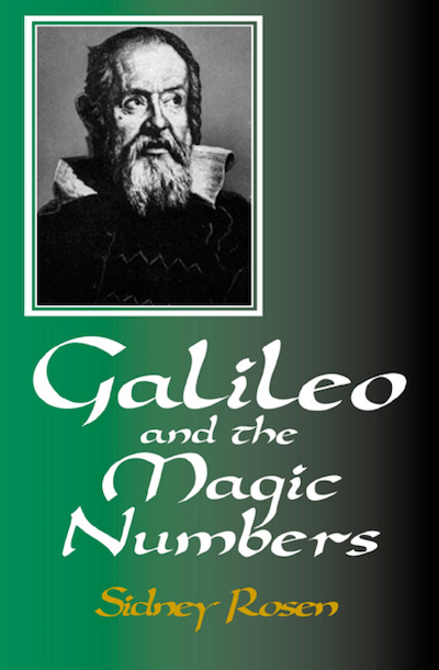 Buy Galileo and the Magic Numbers at Amazon