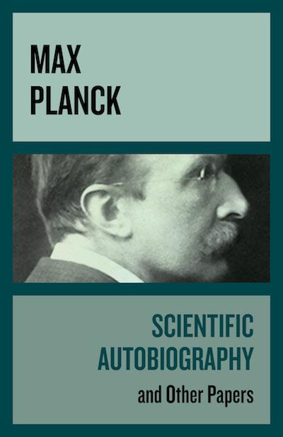 Buy Scientific Autobiography at Amazon