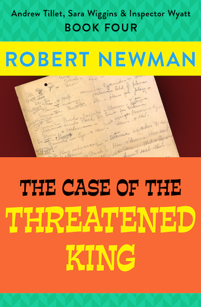 Buy The Case of the Threatened King at Amazon