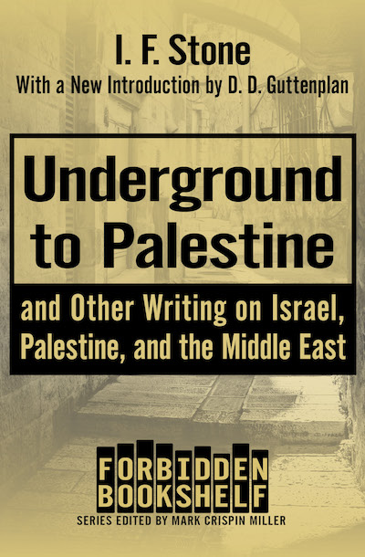 Buy Underground to Palestine at Amazon