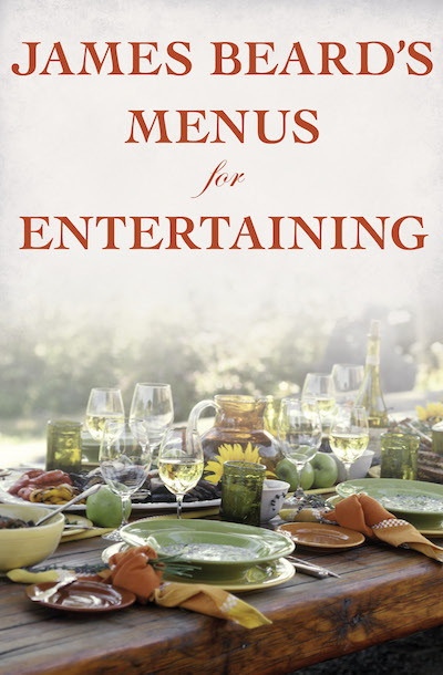 Buy James Beard's Menus for Entertaining at Amazon