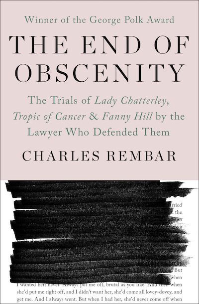 Buy The End of Obscenity at Amazon
