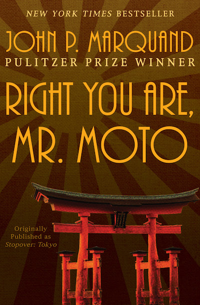 Buy Right You Are, Mr. Moto at Amazon