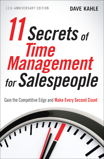 Buy 11 Secrets of Time Management for Salespeople at Amazon