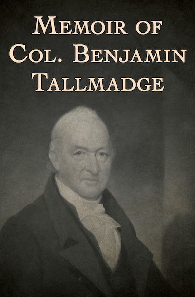 Buy Memoir of Col. Benjamin Tallmadge at Amazon