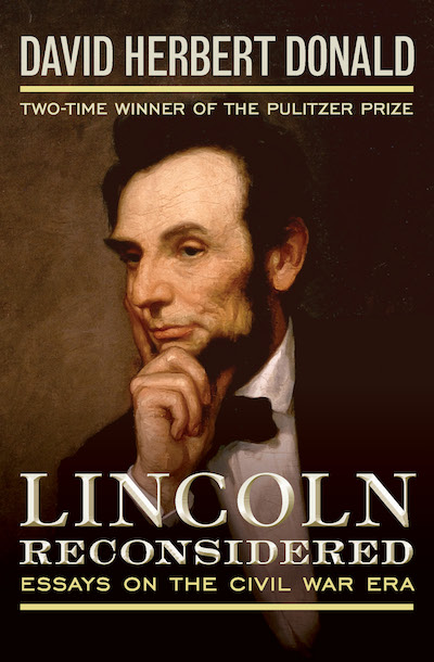 Buy Lincoln Reconsidered at Amazon