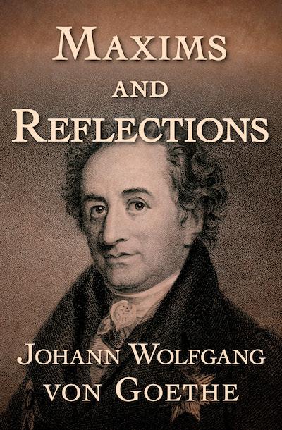 Buy Maxims and Reflections at Amazon