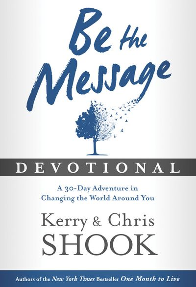 Buy Be the Message Devotional at Amazon