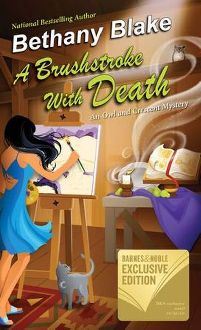 Buy A Brushstroke with Death at Amazon