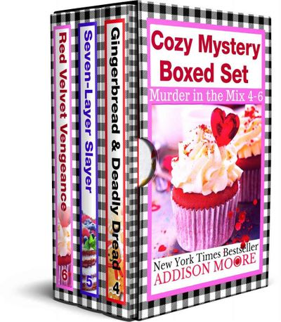 Buy Murder in the Mix Books 4-6 at Amazon